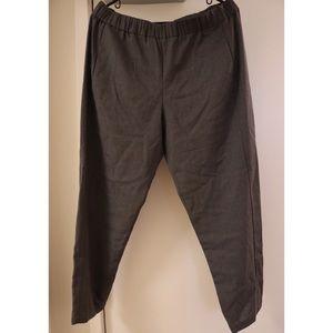 100% wool theory pants